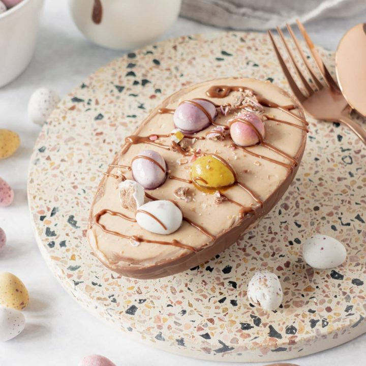 Easter Egg Cheesecake - Featured Image